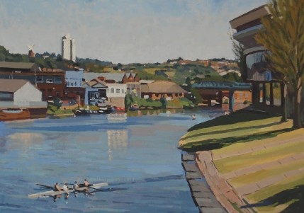 Hannah Merson - Rowers On The Trent