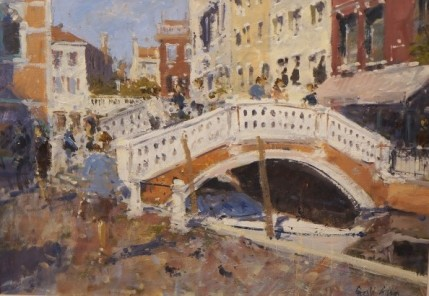 Gerald Green - Sightseers In The Campo dei Frari