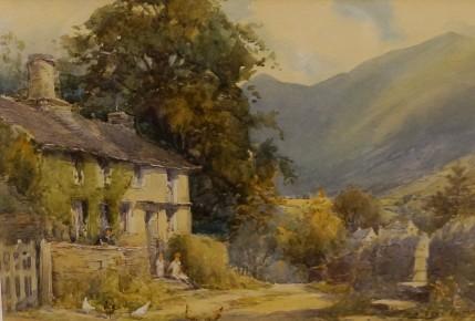 Harold Gresley - Feeding The Hens
