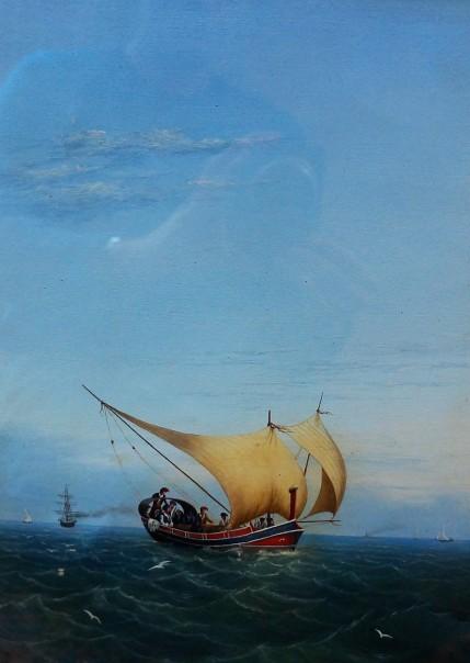 Nicola F.Crescimanna - The Gozo Boat I