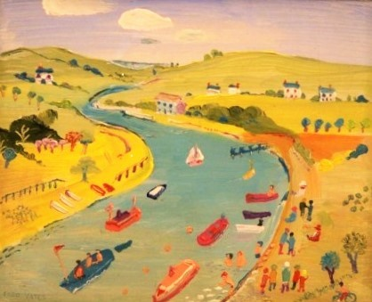 Fred Yates - Springtime on the River Fowey