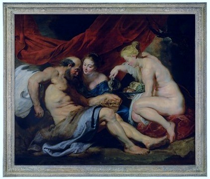 Rubens - Lot and his Daughters