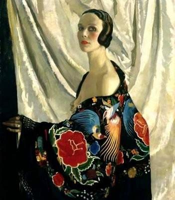 Doris Zinkeisen - Self Portrait