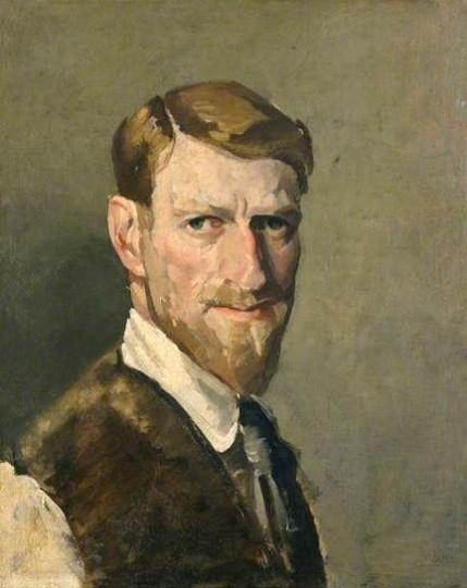 Philip Connard - Self Portrait
